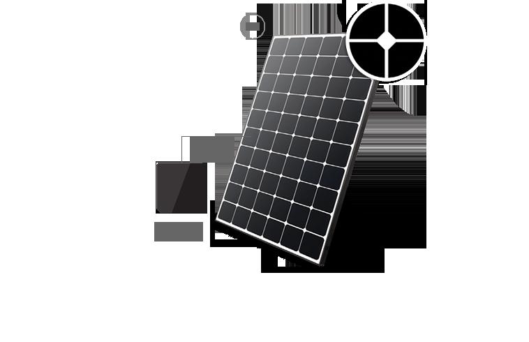 LG NEON R SolarTop Zonnepanelen